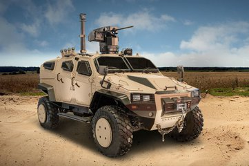 GDA 2017: Nurol readies NMS 4x4 for production