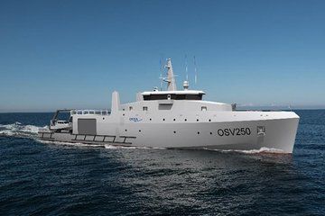 OCEA unveils new offshore support vessel design
