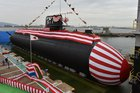 Japan launches first Li-ion submarine