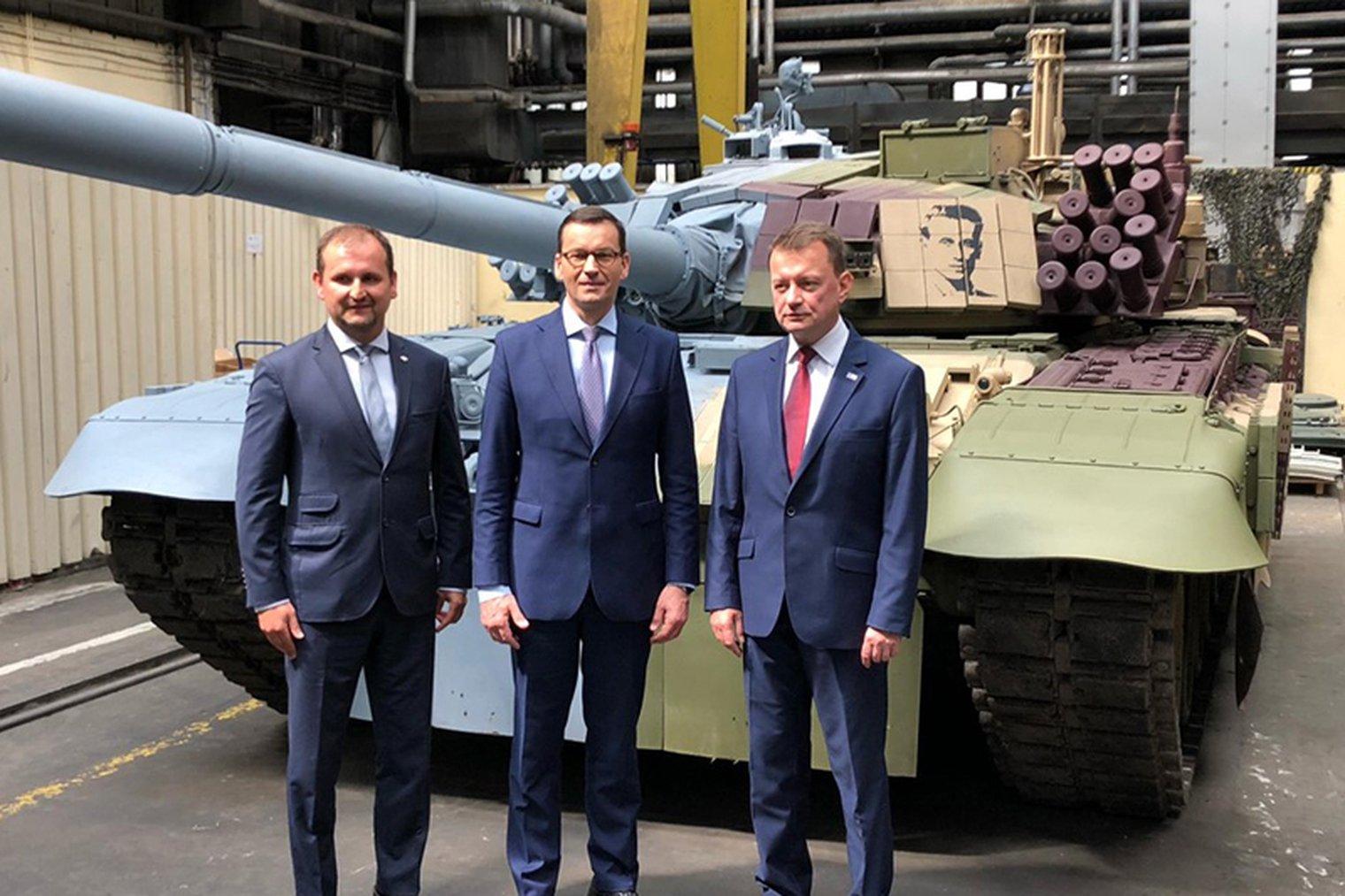 بولندا لتحديث دباباتها نوع T-72 بقيمه 450 مليون دولار 5b8c061b28a68a893d908c451f13b58a