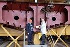 Fincantieri lays keel for third PPA