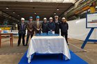 Fincantieri cuts steel for fourth Italian PPA