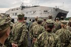 USNS Fall River arrives in Thailand