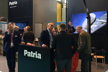 Helitech 2018: Patria showcases rotary support services