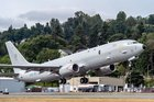 Third P-8A Poseidon lands at Lossiemouth