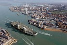 Portsmouth gears up to support UK carrier