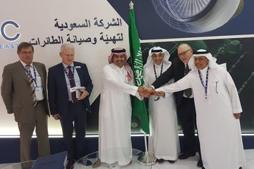 Dubai Airshow 2017: StandardAero partnership to provide Saudi MRO services