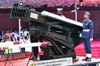 Sri Lanka shows off indigenous rocket launcher