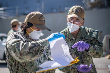 Crew of USS Kidd returns after COVID-19 outbreak