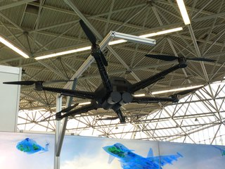 Helitech 2018: Euroavionics places hopes for UAV space in Vader