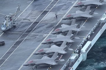 The F-35 for the UK - Providing the Punch for Carrier Strike (video)