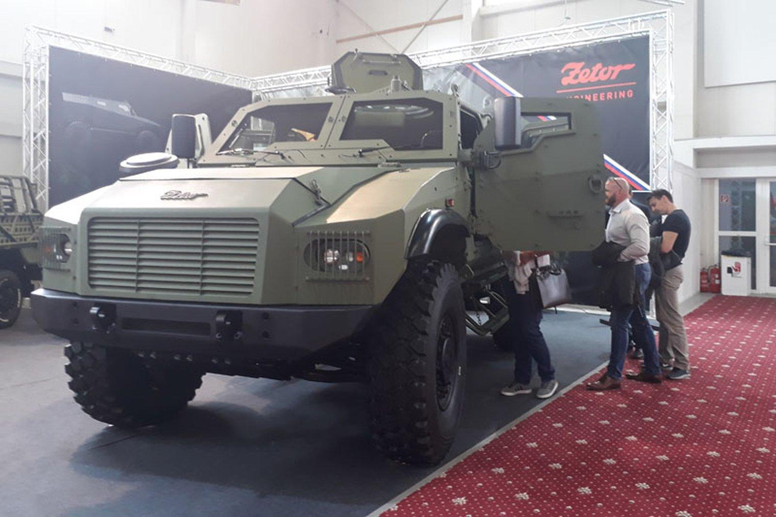 شركة Zetor الهندسيه التشيكيه تكشف عن العربه المدرعه  Gerlach  6b47e386e4819395812bdccb08117a16