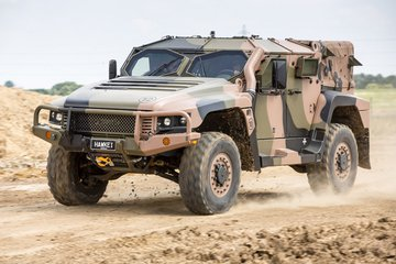 Eurosatory: Hawkei positioned for export