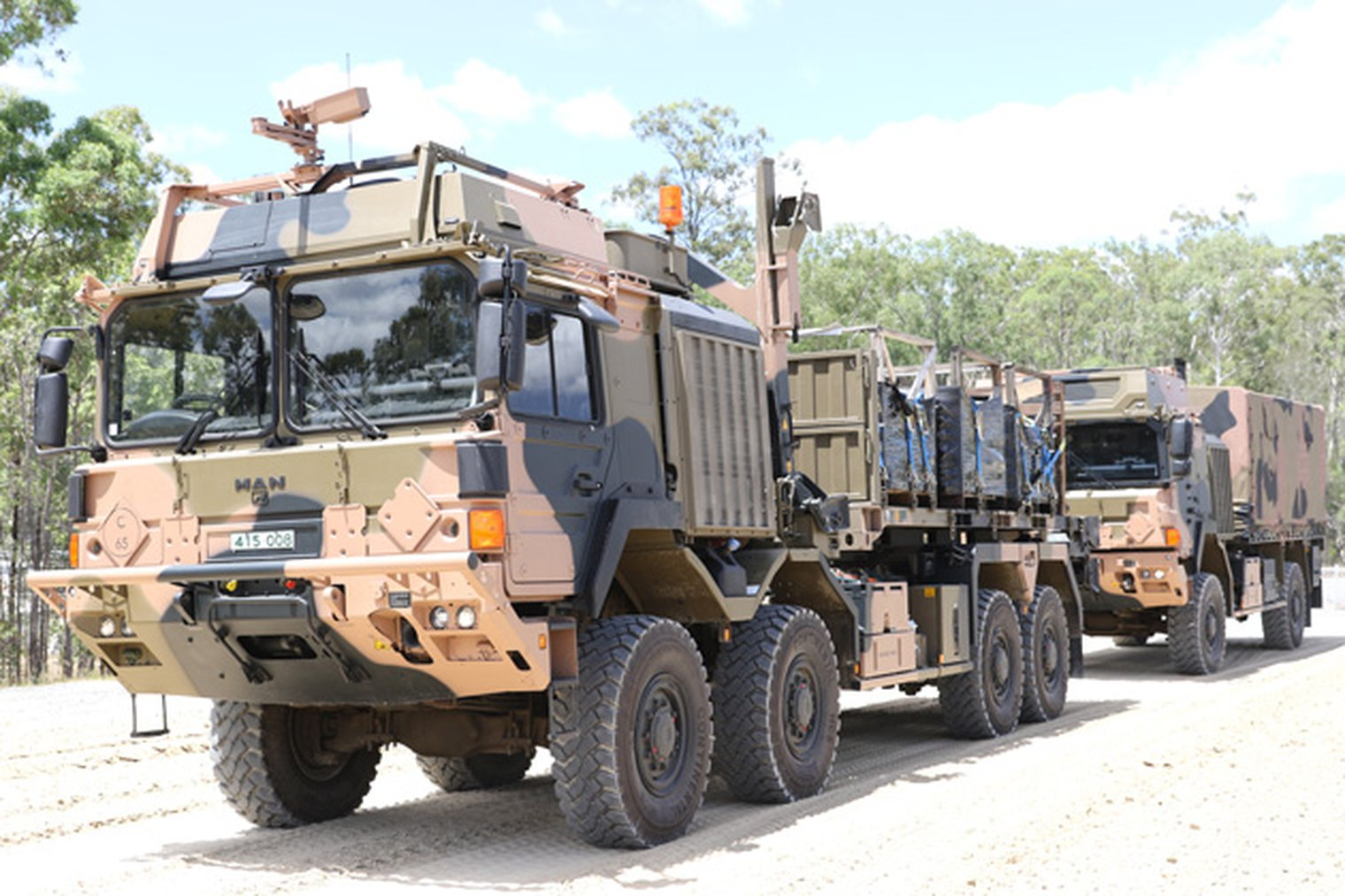 Man Trucks To Revolutionise Adf Logistics Mlf Military
