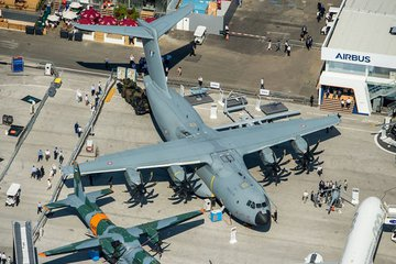 Paris Air Show: Up close with the A400M (video)