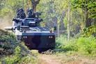 Timoney driveline for Badak vehicle