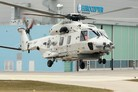 Belgian NH90 Nato Frigate Helicopter takes flight