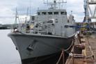HMS Ramsey upgrade work underway