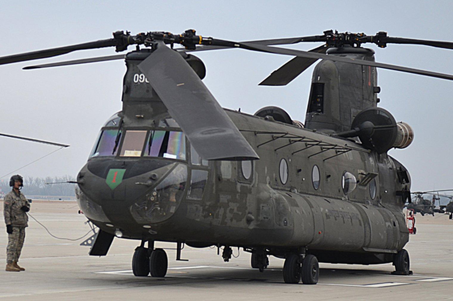 фотография американского вертолета ханкук так