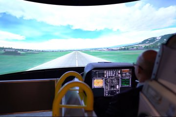 I/ITSEC 2019: Collins Aerospace demos Griffin-2 fast jet sim (video)