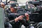 PLA displays new small arms