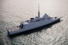 French Navy receives fourth FREMM frigate