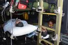 Aeromedical evac simulator for USAF