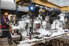 New engines for HMS Brocklesby