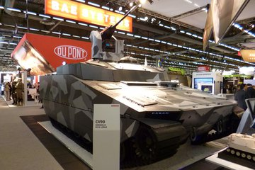Eurosatory: BAE offers CV90 SA upgrades (video)