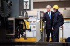 Fallon cuts first steel for HMS Glasgow (video)