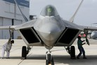 F-22 redelivered to USAF from Speedline facility