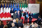 France and Italy sign naval agreement