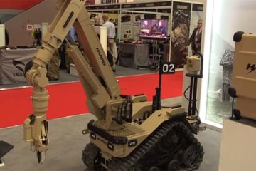 DSEI 2017: Harris reveals robot technology (video)
