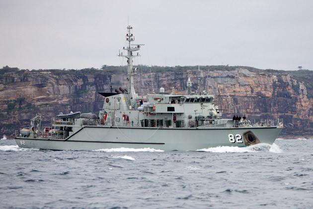 Australia approves minehunter programme