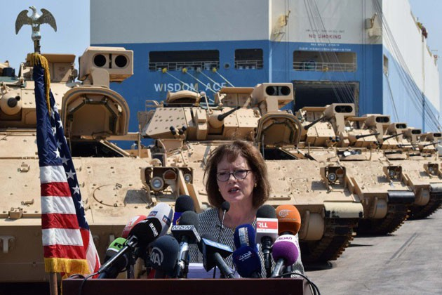 US equips Lebanese Army with Bradleys