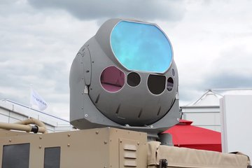 Counter-UAS High Energy Laser on display at FIA 2018 (video)