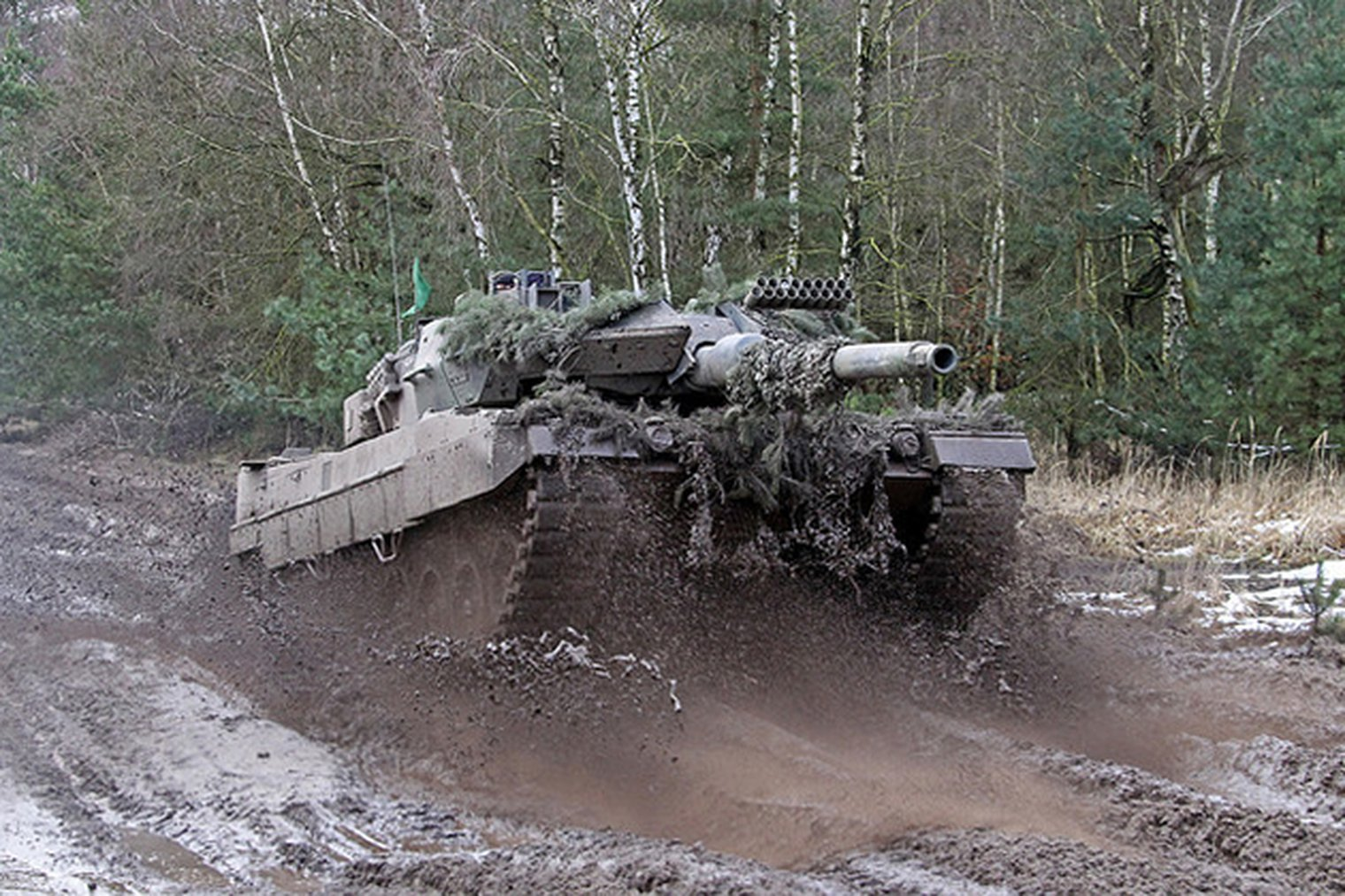 Rheinmetall Awarded Leopard 2 Upgrade Work Lwi Land