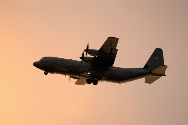 International interest spreads in C-130J-SOF variant