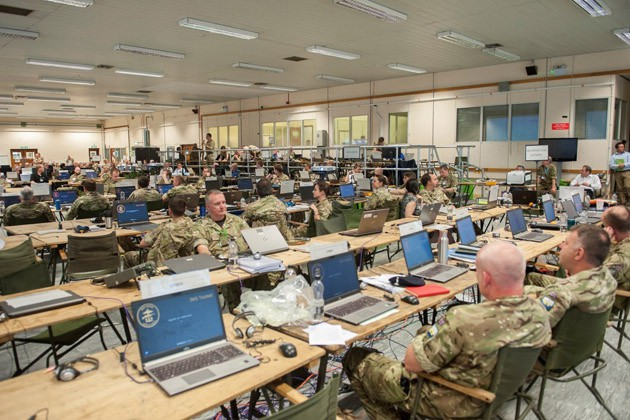 MASS supports UK training exercise