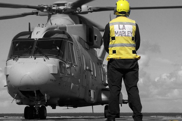 Merlin Mk4 carries out deck landing trials