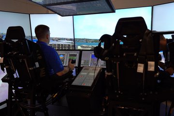 I/ITSEC 2019: CH-53K MFTA flight simulator up-close (video)