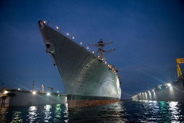 USS Ralph Johnson completes builder's trials