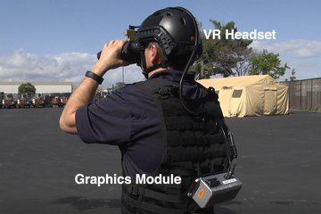 ITEC 2019: Enhancing reality with wearable soldier training system (video)