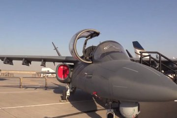 Dubai Airshow 2017: Scorpion in the Arabian sand (video)