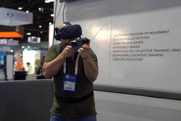 I/ITSEC 2019: Military training tech on display (video)