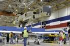 Demonstration Triton UAV platform under construction