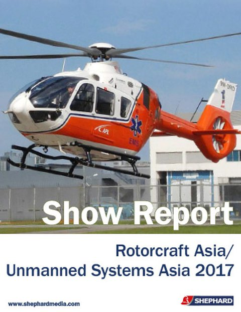 Rotorcraft/ Unmanned Systems Asia 2017 Show Report