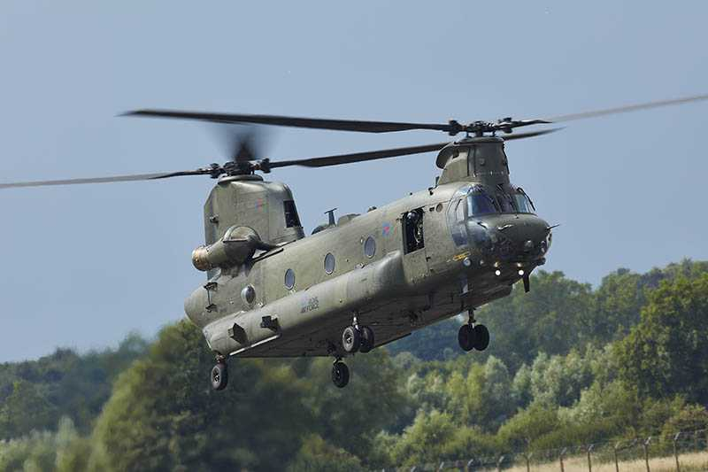 CH-47 Chinook - T55 Engine - UK Royal Air Force