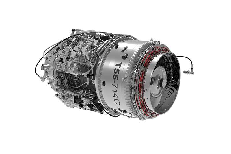 Honeywell - T55-714C - Engine -  CH-47 Chinook Helicopter