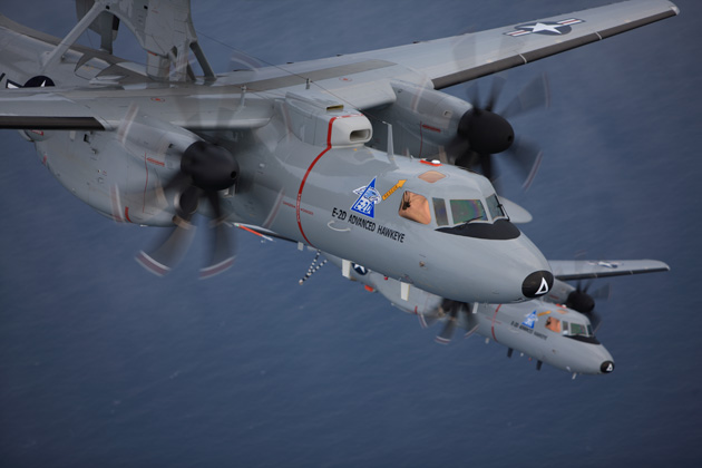 US Navy orders additional E-2D AEW&C aircraft